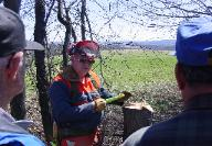 Chainsaw Safety Workshop - Forest Landowner Associations organize educational forestry events